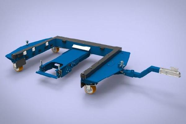 JK Logistika E rám e frame Quad Steer 1
