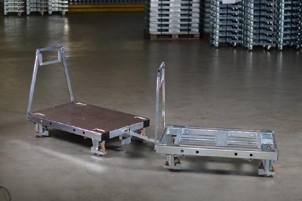 JK Logistika Přepravní vozík Pallet Size Dolly 10