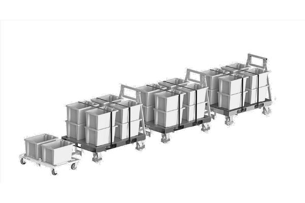 JK Logistika Přepravní vozík Pallet Size Dolly 4