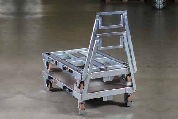 JK Logistika Přepravní vozík Pallet Size Dolly 5