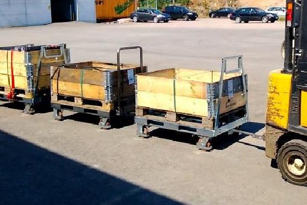 JK Logistika Přepravní vozík Pallet Size Dolly 6