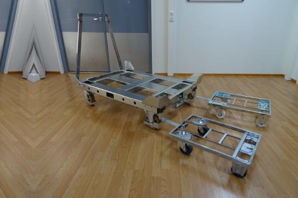 JK Logistika Přepravní vozík Pallet Size Dolly 8