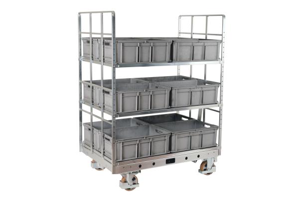 JK Logistika Přepravní vozík Shelf Wagon 2