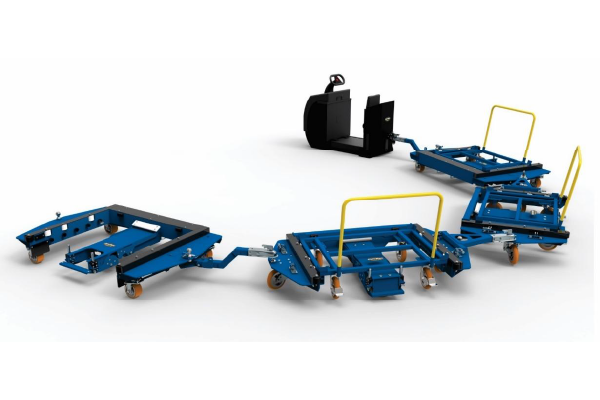 JK Logistika Tažný vozík E frame e rám 2