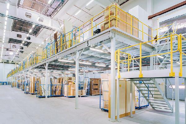 JK Logistika Ocelové konstrukce a pochozí patra 2 1