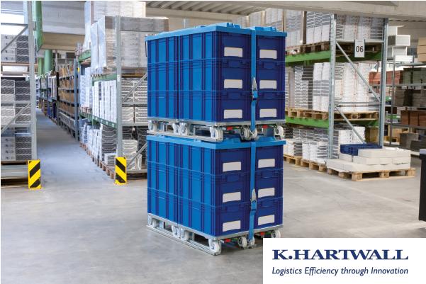JK Logistika Tažné soupravy a přepravní vozíky K. Hartwall
