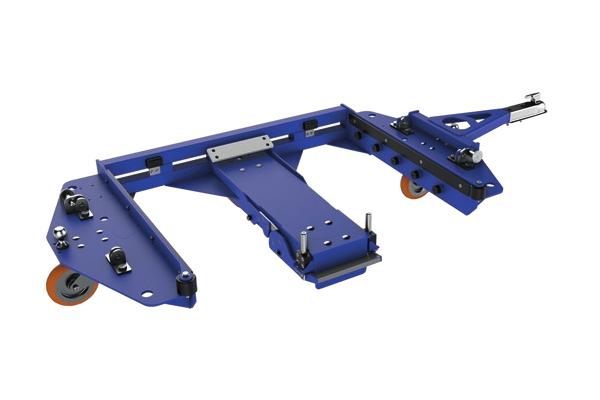 JK Logistika Tazna souprava E frame e ram center steer