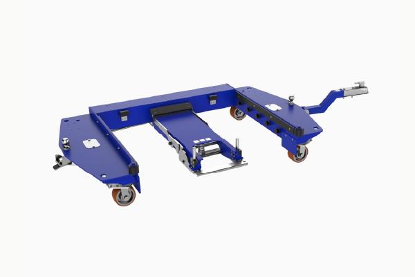JK Logistika Tazna souprava E frame e ram quad steer