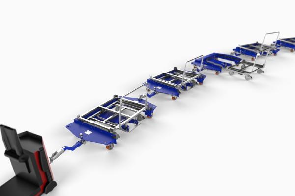 JK Logistika Tazna souprava E frame e ram quad steer 2